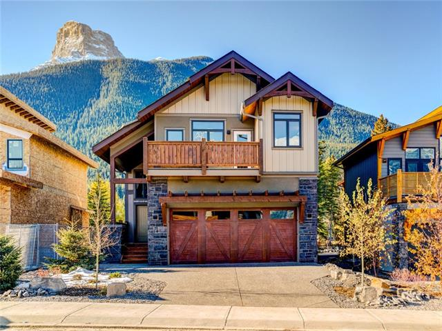 421 Stewart Creek Cl in Three Sisters Canmore MLS® #C4222144