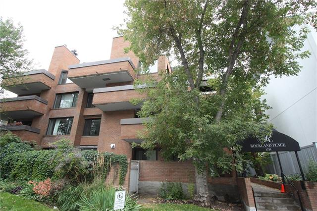 #102 1731 9a ST Sw, Calgary, Lower Mount Royal real estate, Apartment Lower Mount Royal homes for sale