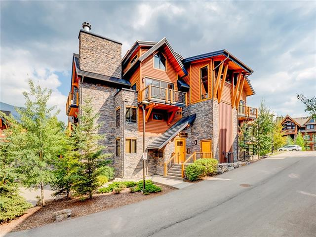 #7105 101g Stewart Creek Landing, Canmore, Three Sisters real estate, Attached Canmore homes for sale