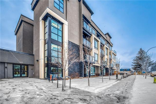 #102 607 17 AV Nw, Calgary, Mount Pleasant real estate, Apartment Armstrong Industrial homes for sale