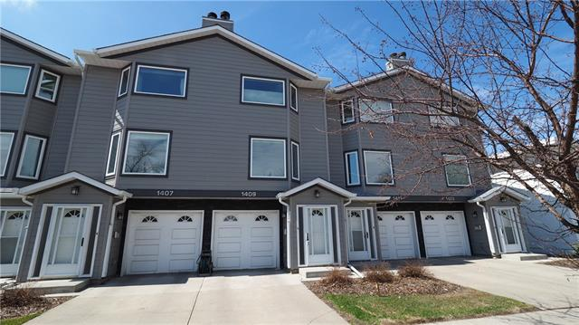 1409 1 ST Ne, Calgary, Crescent Heights real estate, Attached Crescent Heights homes for sale