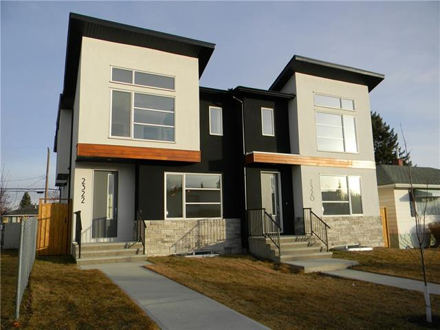 2322 25 AV Nw, Calgary, Banff Trail real estate, Attached Banff Trail homes for sale
