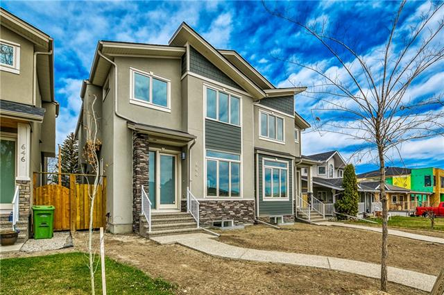 644 24 AV Nw in Mount Pleasant Calgary MLS® #C4224654