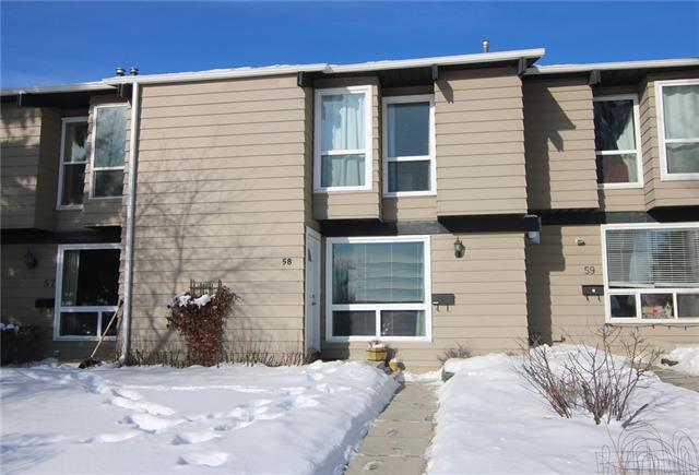 #58 7205 4 ST Ne, Calgary, Huntington Hills real estate, Attached Huntington Hills homes for sale