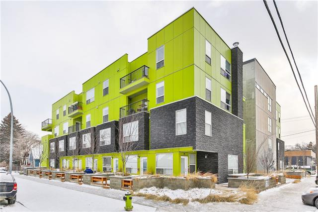 #402 1740 9 ST Nw, Calgary, Mount Pleasant real estate, Apartment Mount Pleasant homes for sale
