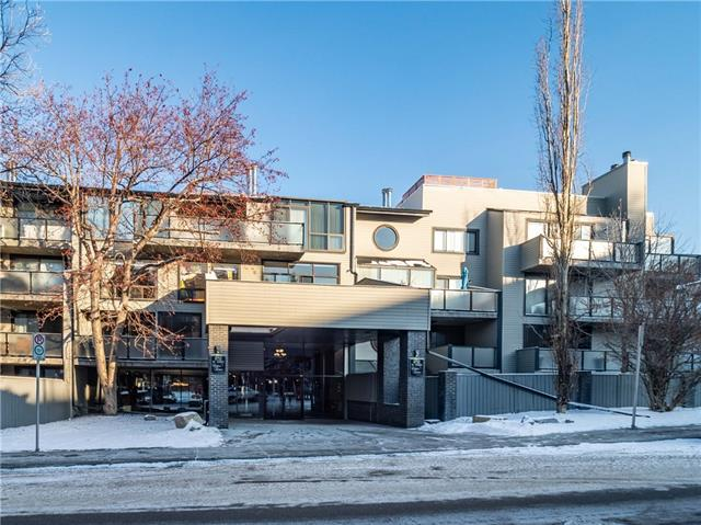 #101 1732 9a ST Sw, Calgary, Lower Mount Royal real estate, Apartment Lower Mount Royal homes for sale