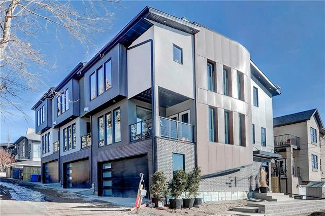 #2 532 4 AV Ne, Calgary, Bridgeland/Riverside real estate, Attached Artist View Park E homes for sale