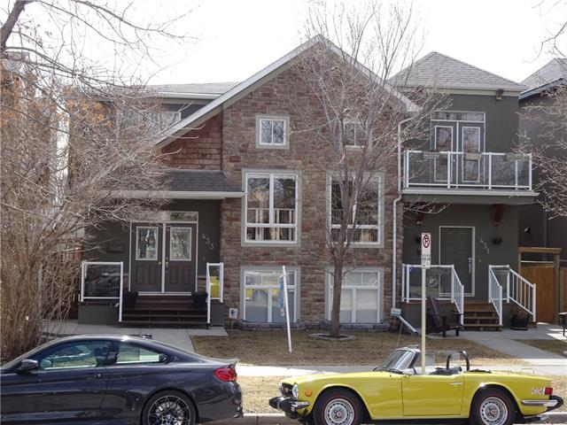 433 12 AV Ne, Calgary, Renfrew real estate, Attached Regal Terrace homes for sale