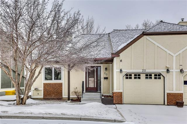 20 Coach Side Tc Sw, Calgary, Coach Hill real estate, Attached Coach Hill homes for sale