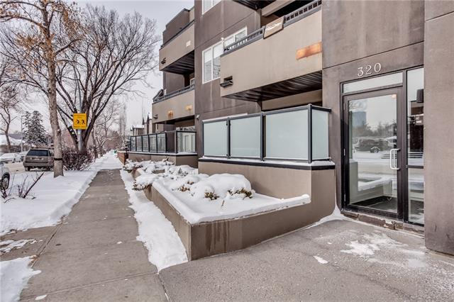 #103 320 12 AV Ne, Calgary, Crescent Heights real estate, Apartment Crescent Heights homes for sale