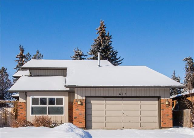 671 Deercroft WY Se, Calgary, Deer Run real estate, Detached Deer Run homes for sale