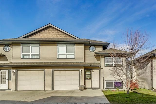 #24 103 Fairways DR Nw, Airdrie, Fairways real estate, Attached Fairways homes for sale