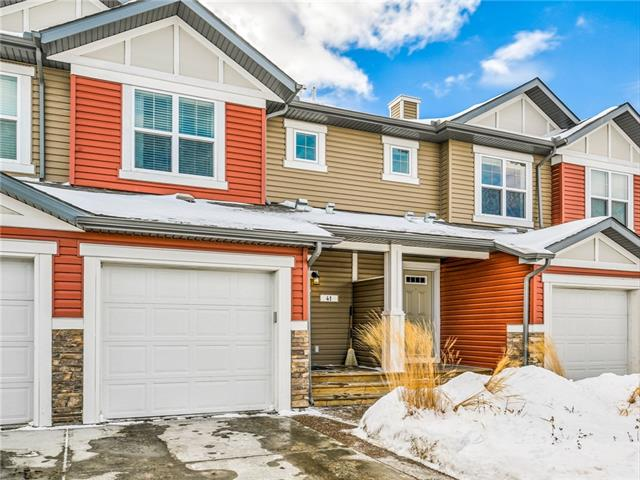 41 Chaparral Valley Gd Se, Calgary, Chaparral real estate, Attached Chaparral Valley homes for sale