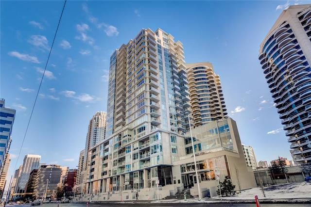#206 1025 5 AV Sw, Calgary, Downtown West End real estate, Apartment Downtown West End homes for sale