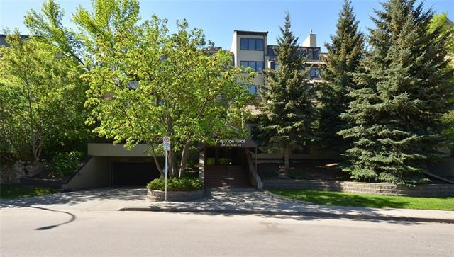 #304 1229 Cameron AV Sw, Calgary, Lower Mount Royal real estate, Apartment Lower Mount Royal homes for sale