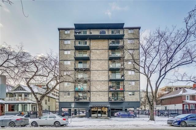 #206 1213 13 AV Sw, Calgary, Beltline real estate, Apartment Connaught homes for sale