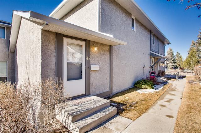 #45 6915 Ranchview DR Nw, Calgary, Ranchlands real estate, Attached Ranchlands Estates homes for sale