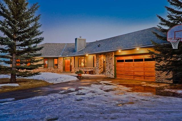 27 Vantage Ridge Es, Springbank real estate, homes