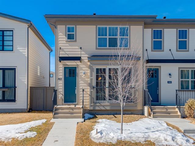 365 Walden Pr Se, Calgary, Walden real estate, Attached Balwin homes for sale