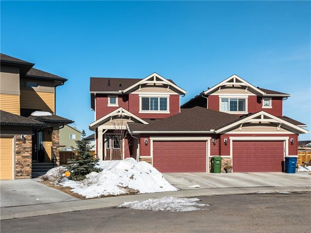 222 Canals CL Sw, Airdrie, Canals real estate, Attached Airdrie homes for sale
