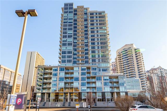 #907 1025 5 AV Sw, Calgary, Downtown West End real estate, Apartment  homes for sale