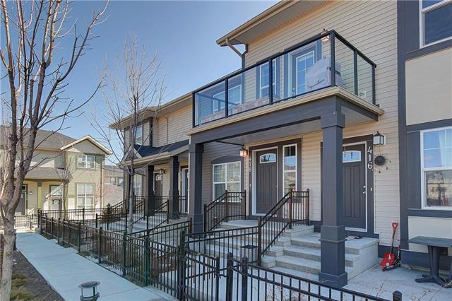 418 Mckenzie Towne Sq Se, Calgary, McKenzie Towne real estate, Attached McKenzie Towne homes for sale