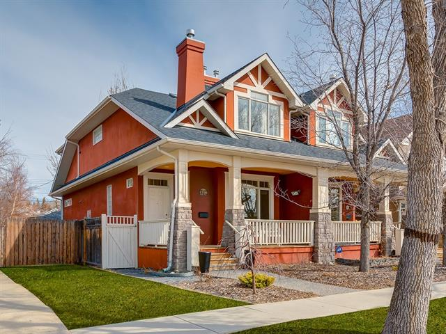 1758 6 AV Nw, Calgary, Hillhurst real estate, Attached Kensington/Hillhurst homes for sale