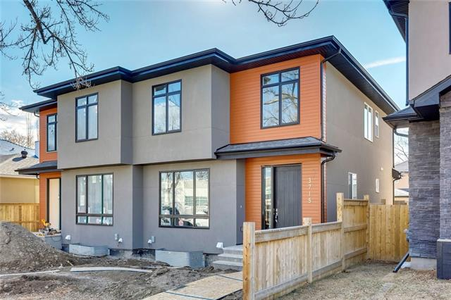 3715 Centre B ST Nw, Calgary, Highland Park real estate, Attached Highland Park homes for sale