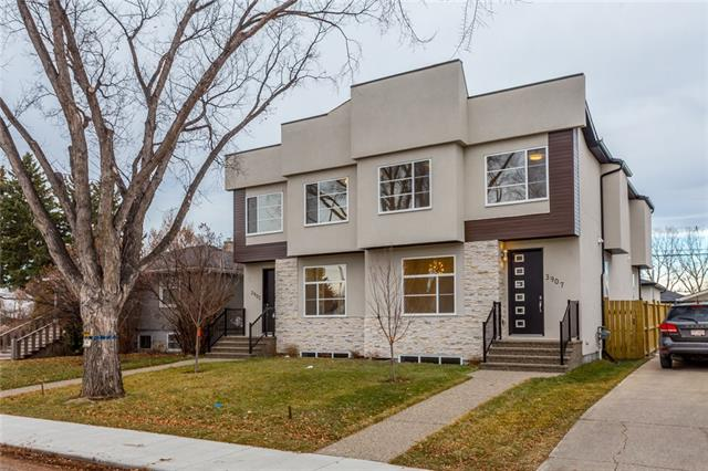 3907 2 ST Nw, Calgary, Highland Park real estate, Attached Highland Park homes for sale