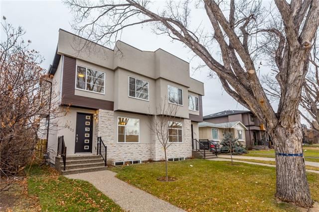 3905 2 ST Nw, Calgary, Highland Park real estate, Attached Highland Park homes for sale