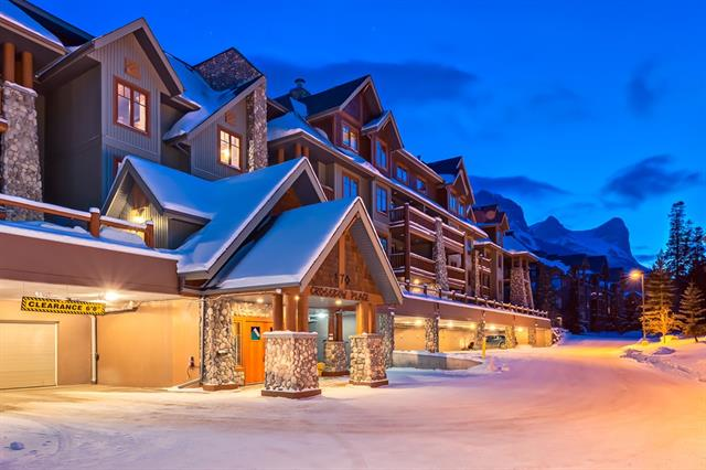#105 170 Crossbow Pl, Canmore, Three Sisters real estate, Apartment Three Sisters homes for sale