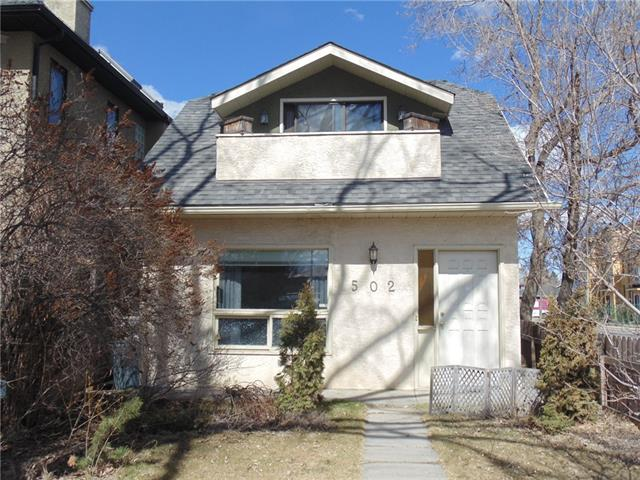 502 27 AV Nw, Calgary, Mount Pleasant real estate, Detached Mount Pleasant homes for sale