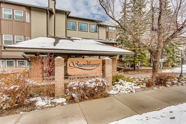 #421 550 Westwood DR Sw, Calgary, Westgate real estate, Apartment Westgate homes for sale