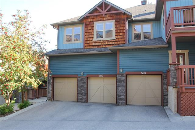 #502 70 Dyrgas Ga, Canmore, Three Sisters real estate, Attached Canmore homes for sale