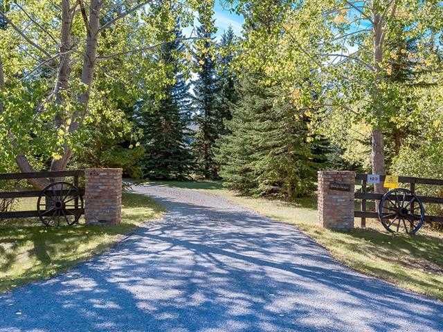 123 Huggard Rd, Rural Rocky View County, Springbank real estate, Detached Springbank homes for sale