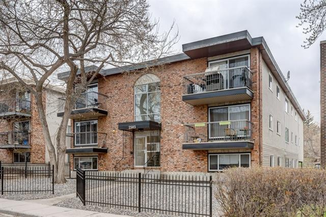 #303 2503 17 ST Sw, Calgary, Bankview real estate, Apartment Anzac homes for sale