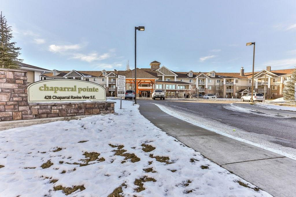 MLS® #C4217658 - #306 428 Chaparral Ravine Vw Se in Chaparral Calgary, Apartment Open Houses