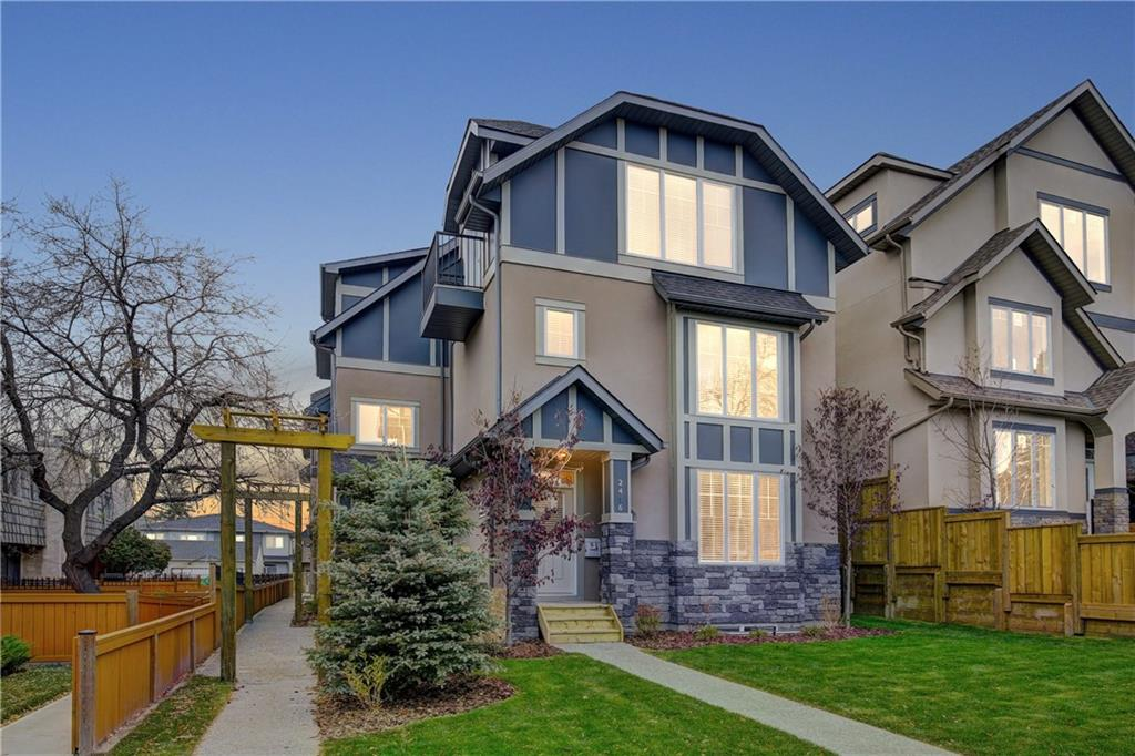 MLS® #C4221033 - #4 2416 30 ST Sw in Killarney/Glengarry Calgary, Attached Open Houses