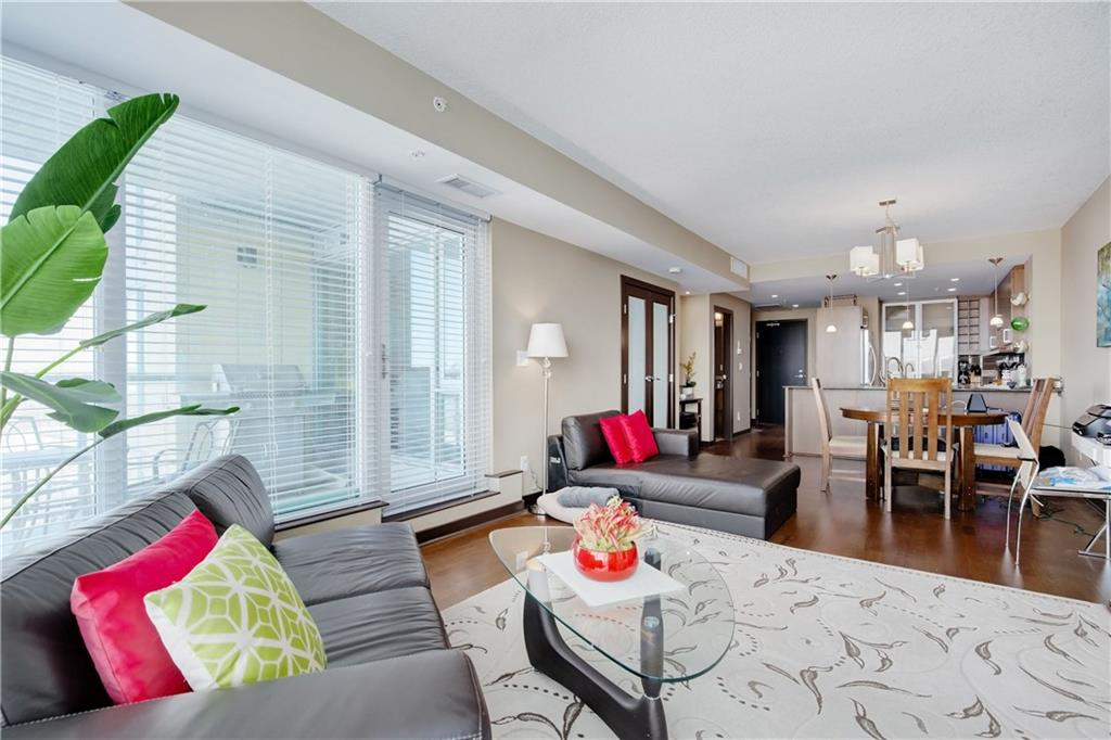 MLS® #C4224227 - #1202 888 4 AV Sw in Downtown Commercial Core Calgary, Apartment Open Houses