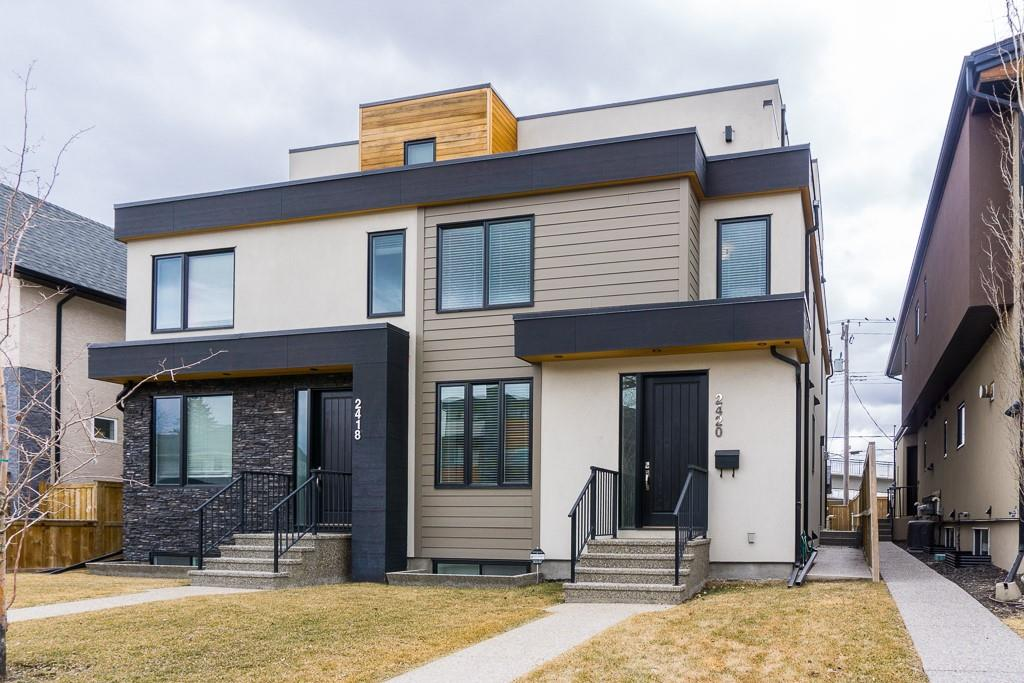 MLS® #C4226793 - 2420 24a ST Sw in Richmond Calgary, Attached Open Houses