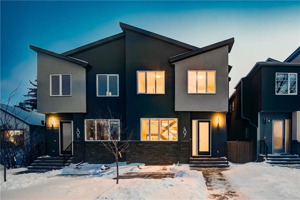 MLS® #C4228679 - 407 24 AV Nw in Mount Pleasant Calgary, Attached Open Houses