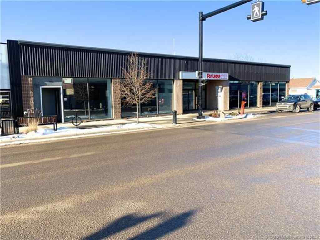 MLS® # A1005872 - 4914 Broadway Avenue  in Downtown Blackfalds, Commercial Open Houses
