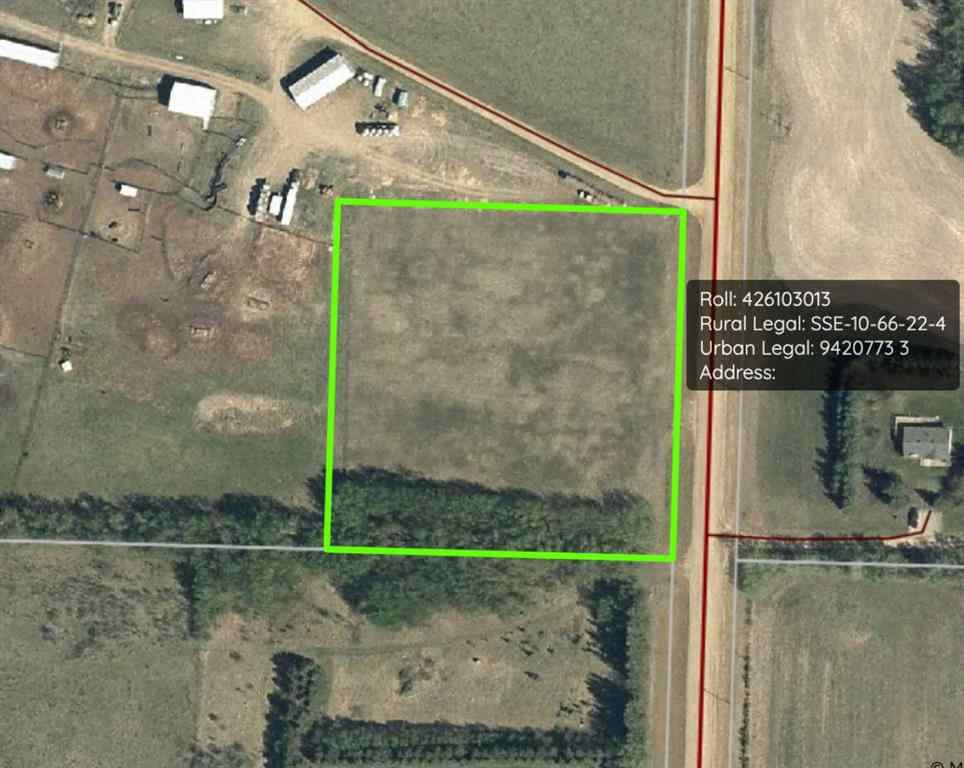 MLS® # A1008650 - 222 Tower Road  in NONE Athabasca, Land Open Houses