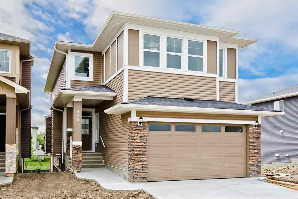 MLS® # A1009948 - 965 MIDTOWN  Avenue SW in Midtown Airdrie, Residential Open Houses