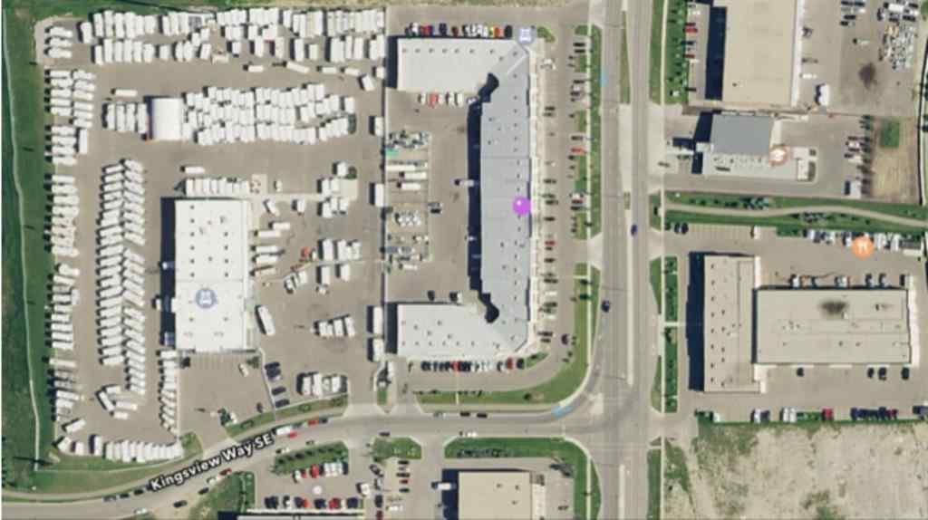 MLS® #A1012836 - Unit #401 & 402 2903 KINGSVIEW Boulevard SE in Kingsview Industrial Park Airdrie, Commercial Open Houses