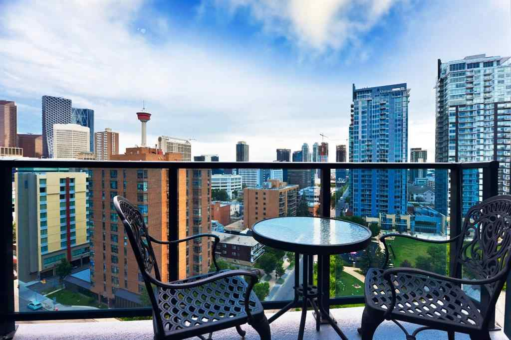 MLS® #A1015299 - Unit #1203 303 13 Avenue SW in Beltline Calgary, Residential Open Houses