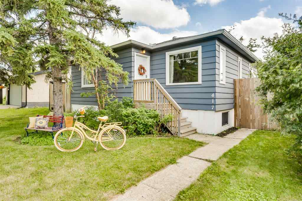 MLS® # A1015300 - 417 CENTRE  Avenue SE in Old Town Airdrie, Residential Open Houses