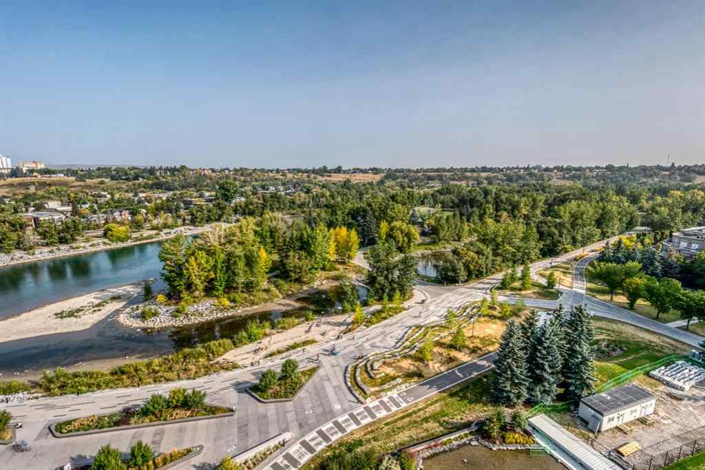 MLS® #A1015644 - Unit #1307 738 1 Avenue SW in Eau Claire Calgary, Residential Open Houses
