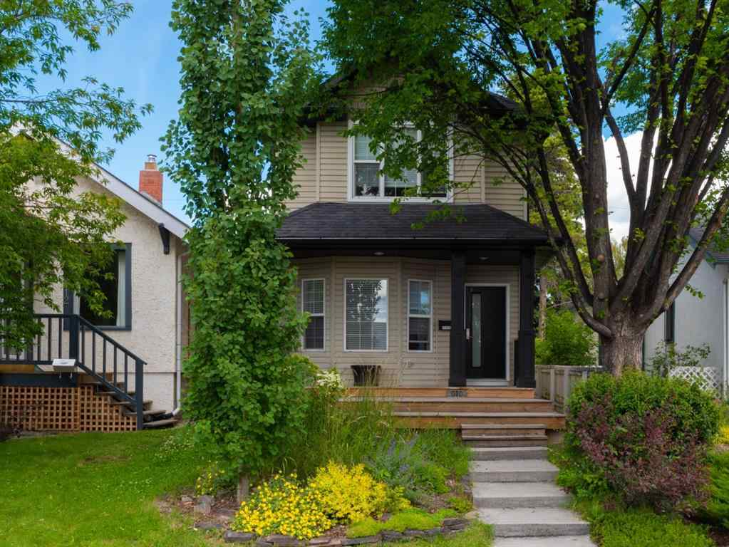 MLS® # A1016102 - 810 21 Avenue NW in Mount Pleasant Calgary, Residential Open Houses