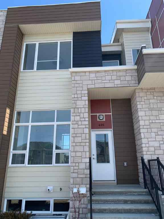 MLS® # A1017179 - Unit #406 1530 bayside  Avenue SW in Bayside Airdrie, Residential Open Houses